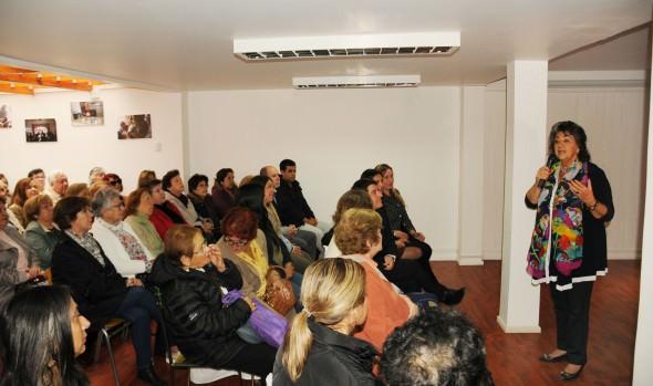 Función de Casa de encuentro del SENAMA en Viña del Mar fue valorado por alcaldesa Virginia Reginato