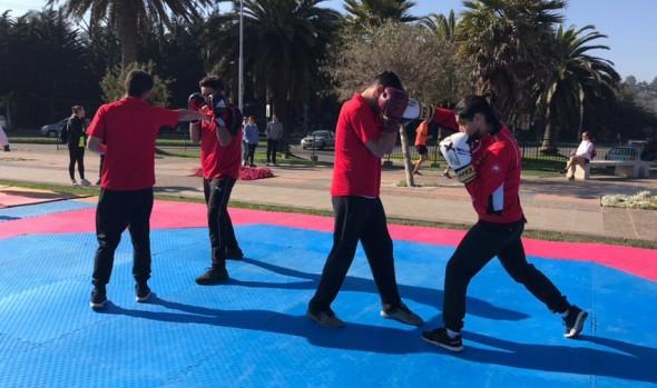 En diversos sectores de Viña del Mar municipio celebró el Día Internacional de la Actividad Física