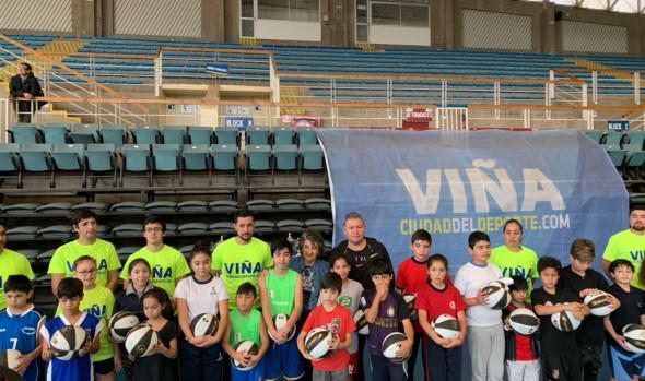 En Viña del Mar crean Liga formativa de básquetbol para niños y jóvenes