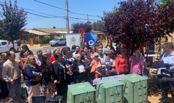 Familias de Viña del Mar serán capacitadas para transformar residuos orgánicos en compost