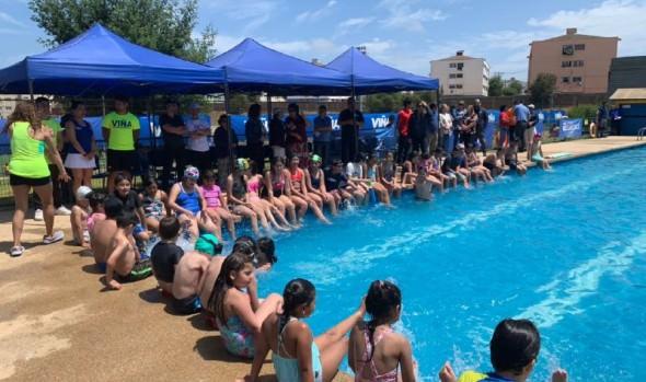 Viña del Mar abre temporada de piscinas en sus 7 recintos municipales