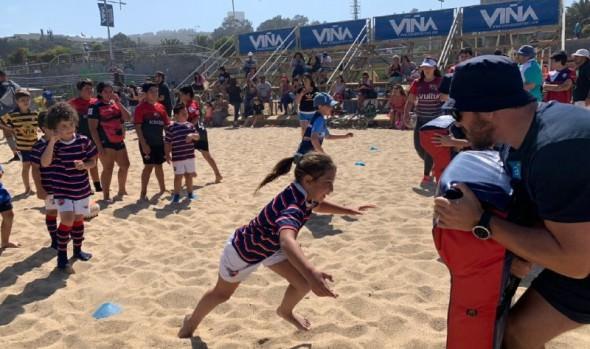 Estadio Sausalito recibe por primera vez el World Rugby Challenge Series