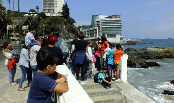 Programa de educación patrimonial pasos invita a caminata para observar aves costeras e inmuebles patrimoniales