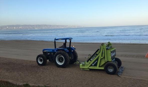 Destacan mantención y limpieza de playas en Viña del Mar