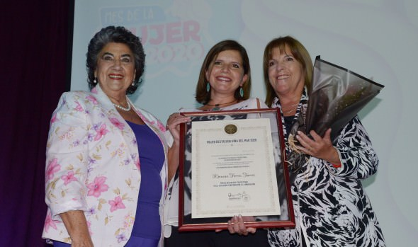 Viña del Mar distingue a sus mujeres destacadas en conmemoración del Día Internacional de la Mujer