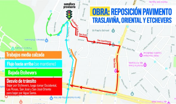 Municipio inicia mejoramiento de circuito vial de calles Traslaviña y Etchevers Alto