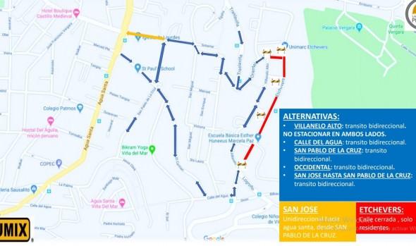 Mejoramiento de circuito vial de calles Traslaviña, Oriental y Etchevers Alto comienza nueva etapa