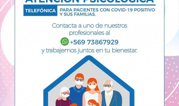 Municipio de Viña del Mar implementa servicio de atención psicológica telefónica a pacientes con Covid 19