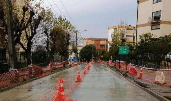 Nuevos desvíos se implementarán en trabajos de calle Traslaviña por socavón