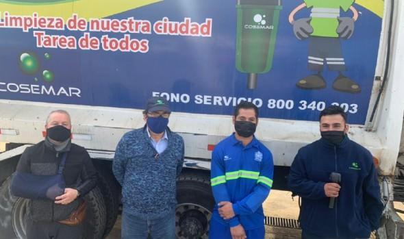 Municipio de Viña del Mar se hará parte en acciones legales que interpondrán funcionarios de aseo insultados por vecino durante jornada de trabajo