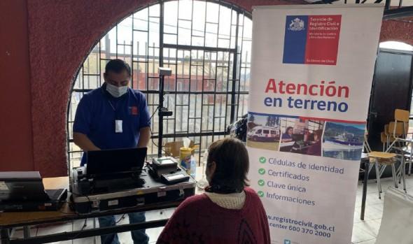 Municipio de Viña del Mar realiza operativos con el Servicio de Registro Civil en terreno