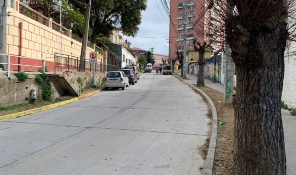 Pavimentación de calles en Recreo se encuentran en etapa final
