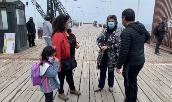 Parques y paseos de Viña del Mar reabrieron al público con aforo limitado