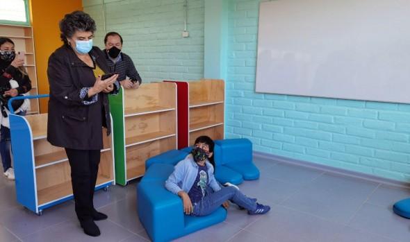 Concluyen obras de conservación en Escuela municipal Almirante Luis Gómez Carreño