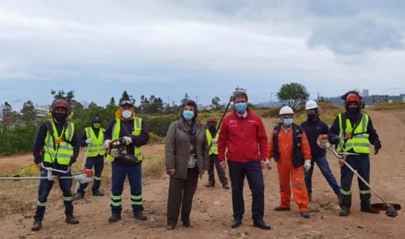 Municipio de Viña del Mar aumenta extensión de cortafuegos en Plan de prevención de incendios forestales