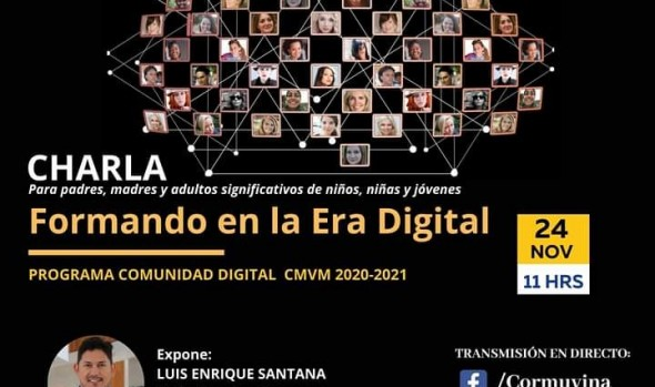 Abordarán fórmula para que padres y madres sepan cómo enfrentar el desafío de la vida digital de sus hijos
