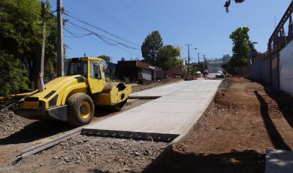 Calle Nueva Central en el centro de viña del mar fue entregada al uso público tras finalizar obras de mejoramiento