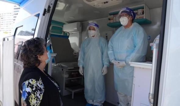 Área Salud de Corporación Municipal continúa realizando tomas de examen PCR en diversos puntos de Viña del Mar