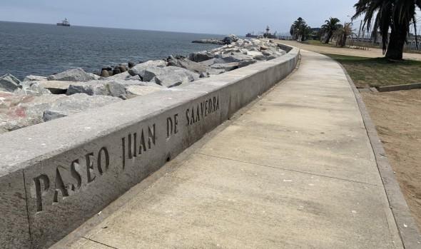 Entregan al uso remozado paseo Juan de Saavedra tras ejecución de obras para mitigar efectos de las marejadas