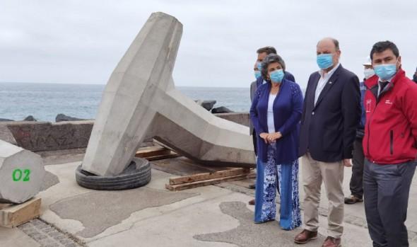 Comenzaron obras de defensa costera de Av. Perú que disminuirá impacto de marejadas en 46%