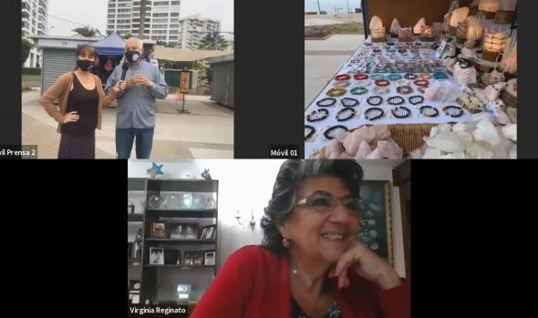 Municipio de Viña del Mar apoya a emprendedores con módulos en Parque de artesanos