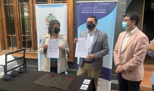 Municipio de Viña del Mar y Corporación Regional de Turismo firman convenio de cooperación para potenciar la industria turística