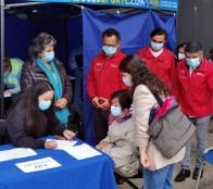 Invitación a vacunarse en Viña del Mar hace alcaldesa Virginia Reginato