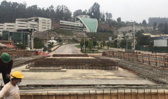 En etapa final de construcción se encuentran puentes sobre estero de Reñaca