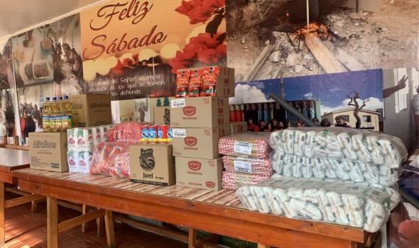 Municipio de Viña del Mar continúa entregando ayuda en mercadería a organizaciones comunitarias de la comuna