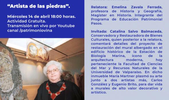 Municipio de Viña del Mar invita a profundizar en la vida y obra de María Martner