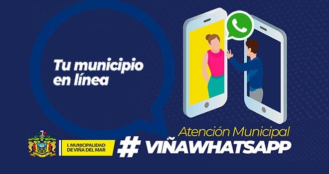 Atención Municipal vía WhatsApp