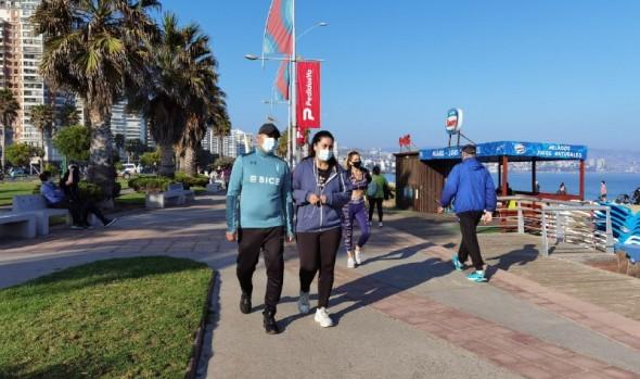 Positivo balance de cierre de calles para franja deportiva realizó municipio de Viña del Mar