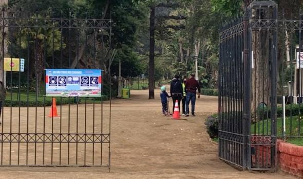 Parques y paseos de Viña del Mar se reabrieron al público tras avance a fase 2 del plan paso a paso