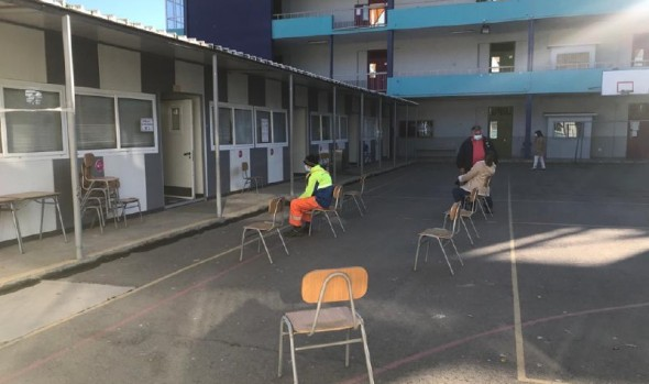 Punto de vacunación anti-influenza en Escuela Aldo Francia se cambia a Mall Marina