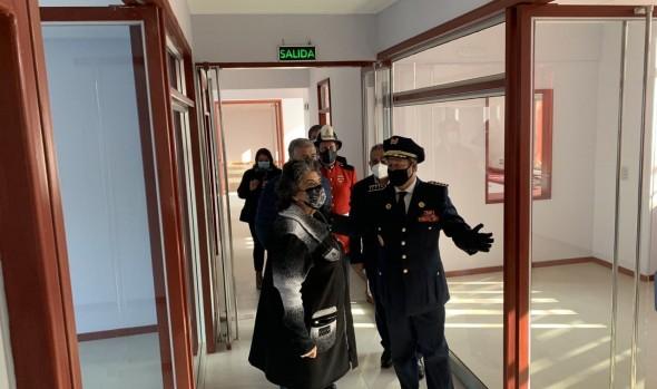 Inauguran 8ª compañía de bomberos de Viña del Mar en Reñaca