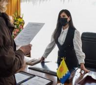 Macarena Ripamonti asumió oficialmente como alcaldesa del Municipio de Cuidados de Viña del Mar