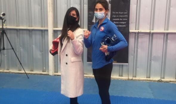 Con el sueño de la medalla olímpica, taekwondista viñamarina viaja a olimpiadas de Tokio