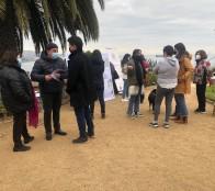 Exitoso primer encuentro de participación vecinal en diseño para mejorar plaza de Cerro Castillo en Viña del Mar