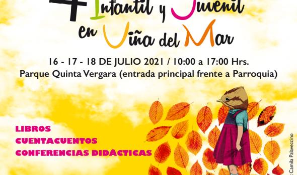 4º Festival de literatura infantil y juvenil presencial en los jardines del Parque Quinta Vergara en Viña del Mar