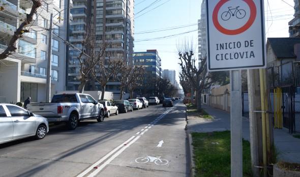 Municipio de Cuidados de Viña del Mar inicia trabajos para habilitar nueva ciclovía en población Vergara