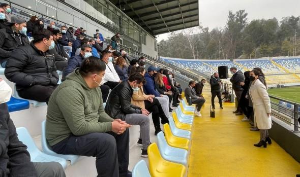 Municipio de Cuidados de Viña del Mar potenciará actividad y eventos deportivos con nuevo plan de trabajo