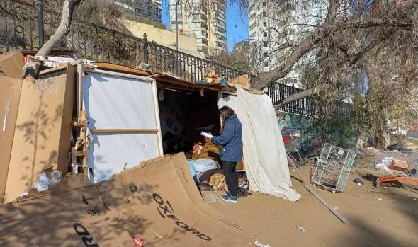 Dirección de Desarrollo Comunitario de Viña del Mar inició catastro de personas en situación de calle en la comuna