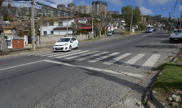 Municipio de Cuidados insistirá a Seremi de Transportes para aprobar instalación de semáforo en peligroso cruce en Agua Santa