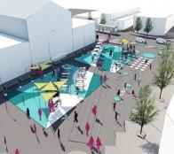 Ciudad colaborativa: La intervención que transformará explanada del Mercado Municipal en nueva plaza