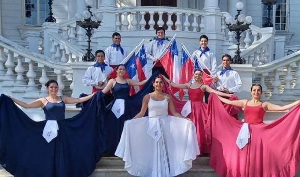 Colorida Gala folclórica en el Muelle Vergara cierra programa municipal de Fiestas Patrias