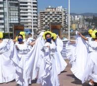 Ballet Folclórico Bafovi deleitó a cientos de personas en Muelle Vergara